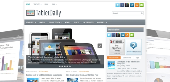 TabletDaily - best wordpress themes