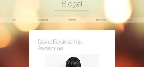 Blogal - free blogger templates 2014