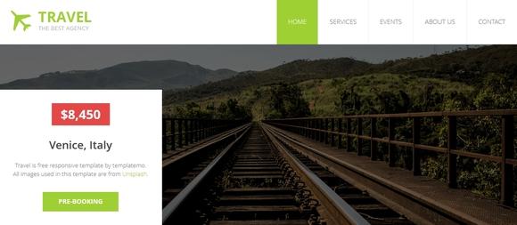 Travel - website templates