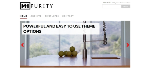 MH Purity lite - wordpress themes free