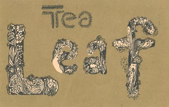 Growing Tea Leaf Typography - typography tutorials