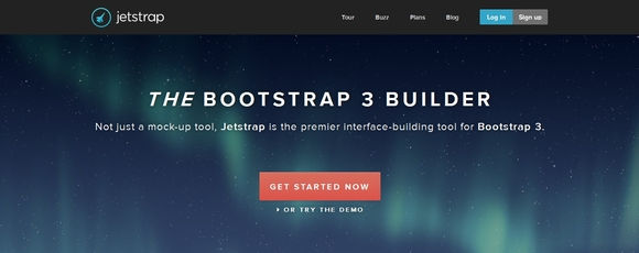Jetstrap - web design tools