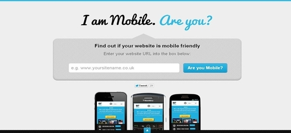 I am mobile - web design testing tools