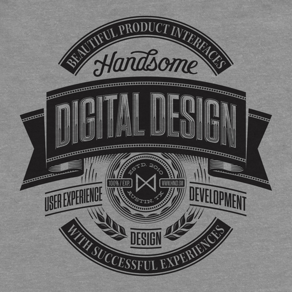 Handsome - typography designs