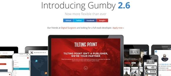 Gumby - responsive html5 css3 framework