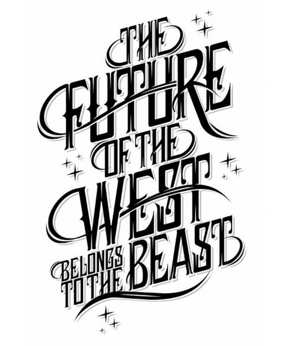 Type 1 - typography designs