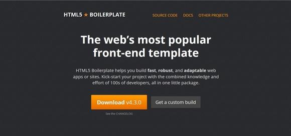 HTML5 Boilerplate - free html5 frameworks