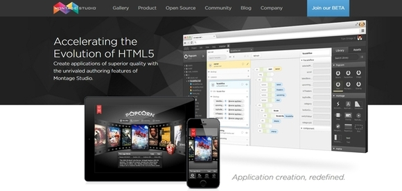 Montage Studio - free html5 frameworks