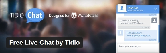 Free Live Chat by Tidio - web development