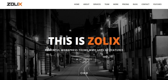 Zolix - wordpress themes - wordpress theme