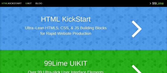 HTML5 KickStart - web design tools