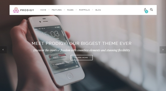 Prodigy - free wordpress themes