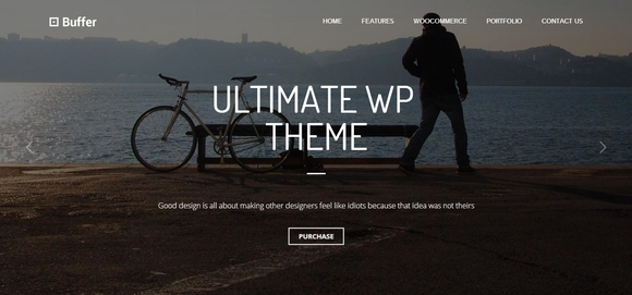Buffer - free wordpress themes