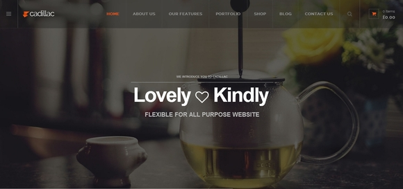 Cadillac - wordpress themes