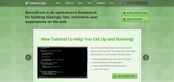 SproutCore - html5 web development tools