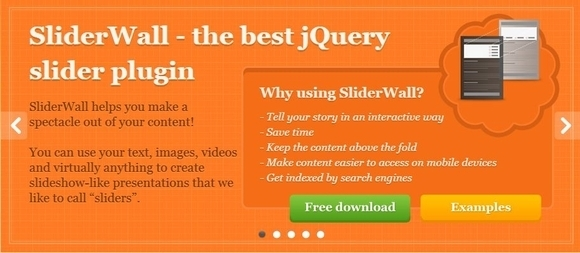 Sliderwall - jquery image slider