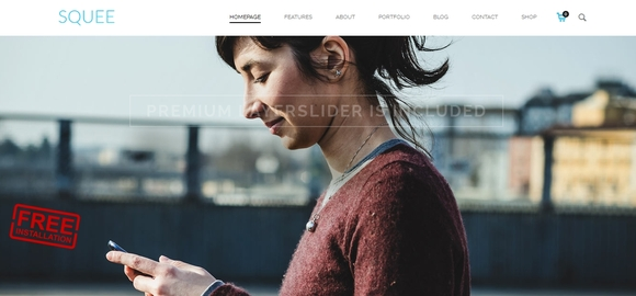 Squee - wordpress theme