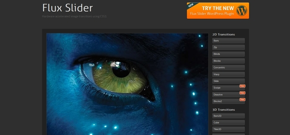 flux slider - jquery image slider plugins
