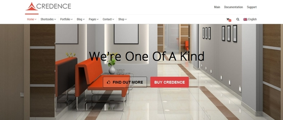 Credence - blog wordpress themes