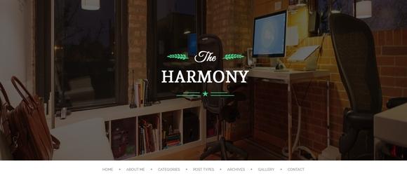 Harmony - blog