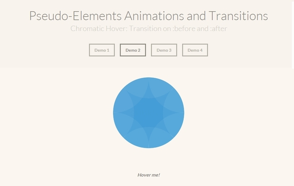 Pesudo-Elements Animations and Transitions - CSS3 animation tutorial