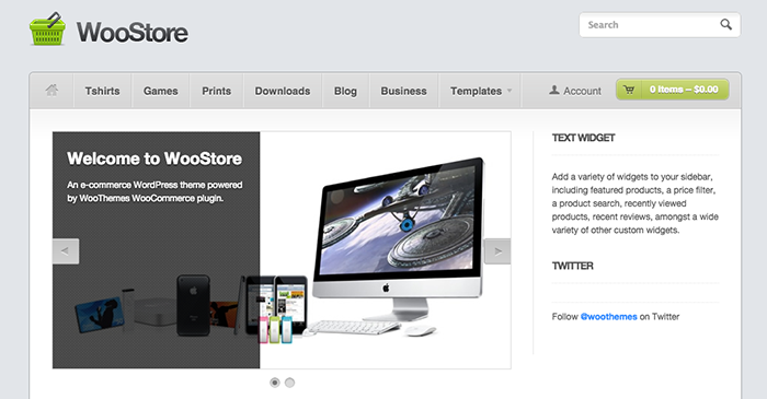 Woostore - Cheap WordPress Themes