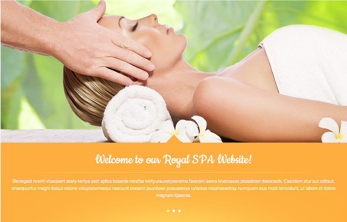 Spa theme for women