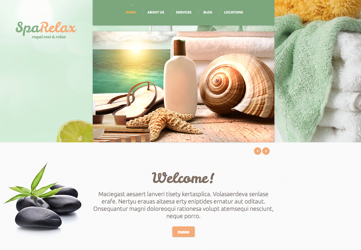 spa salon theme
