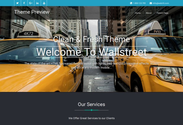 bluestreet-free-corporate-wordpress-theme