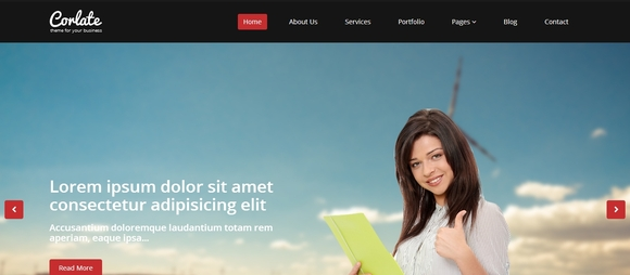35 awesome free bootstrap html templates corlate is a free responsive business html template are you starting a new company website new start up project or may be youre talented person who wants cheaphphosting Image collections