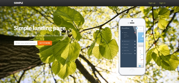 Siimple - free html5 templates