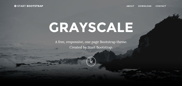 Grayscale - website templates