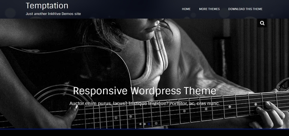 Temptation - website templates