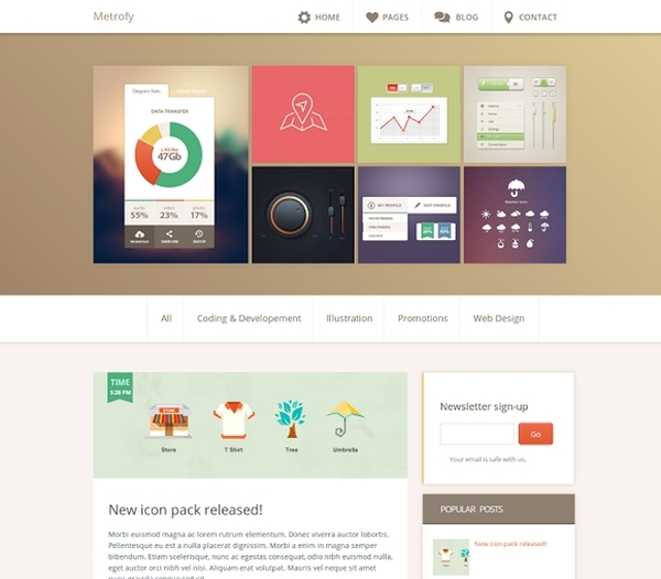 Best Free Blogger Templates - blogger template