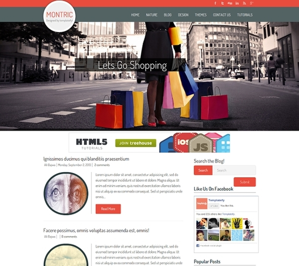 Best Free Blogger Templates 2014 - website templates