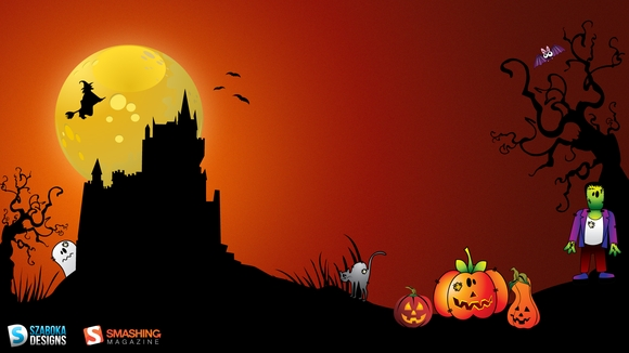 Swing with Shad Halloween - pc wallpaper