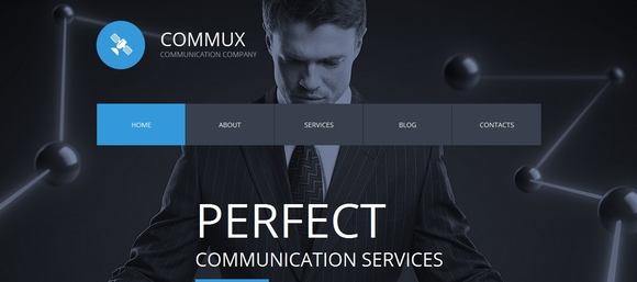 Communications - html5 templates