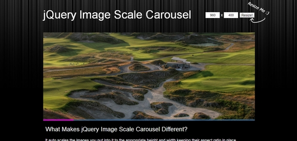 jQuery Image Scale Carousel - jquery carousel slider