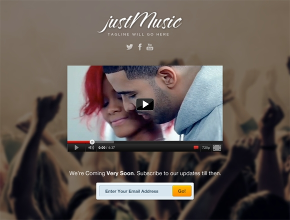 Just Music - wordpress