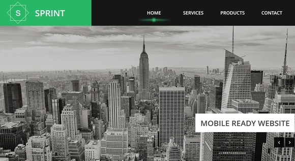 sprint - free website templates