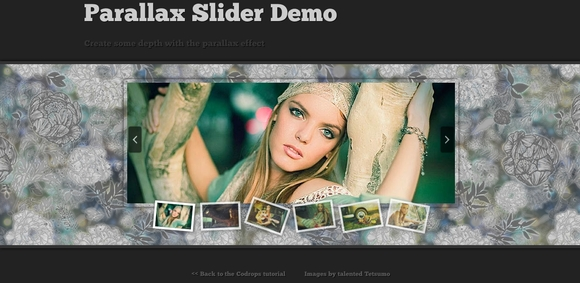 Parallax Slider with jQuery -jquery parallax tutorials