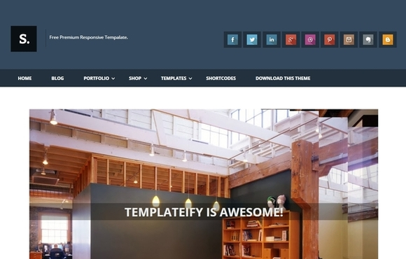 Sentify - best blogger templates