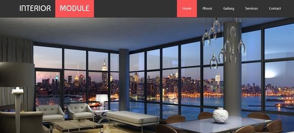 Interior Module - website templates
