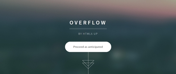Overflow - responsive html5 templates