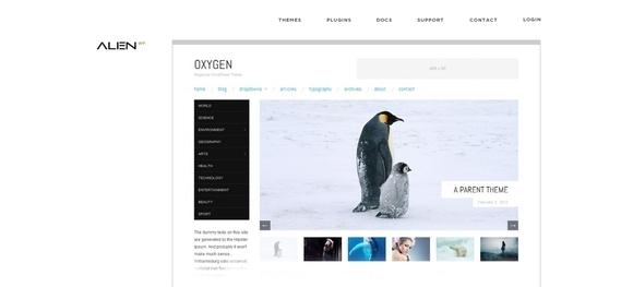Oxygen - best themes