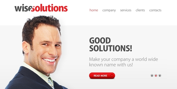 zWiseSolutions - best html5 templates