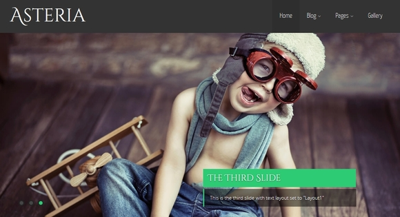 Asteria Lite - free wordpress themes 2014