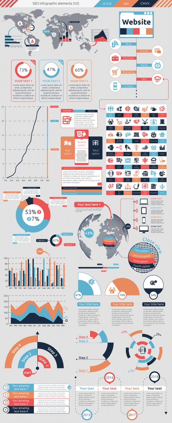SEO Infographic - best design infographics