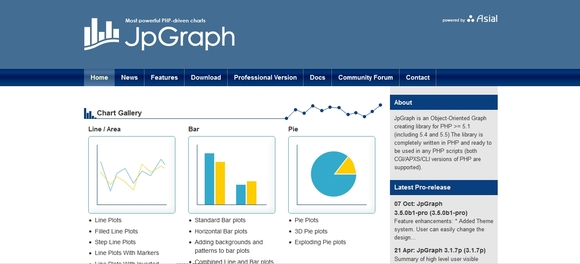 JP GRAPH - free data visualization tools