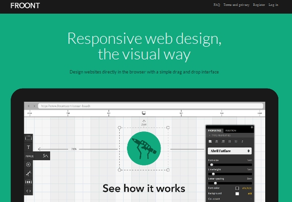 FROONT - free responsive design testing tools